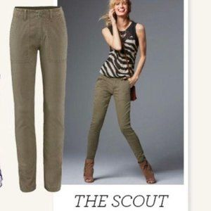 Cabi The Scout Green Pants Style 3199 Size 10